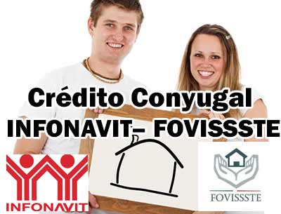 como funciona el credito infonavit conyugal