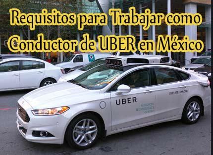 como trabajar en uber mexico