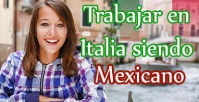 trabajar en italia hablando español