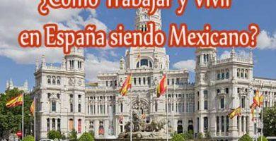 trabajos en españa para mexicanos
