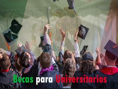 Becas para universitarios mexicanos