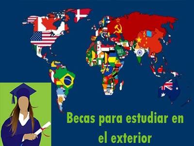 Becas universitarias para estudiar en el exterior